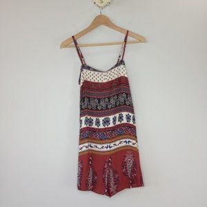 Staring at Stars Urban Outfitters boho tie romper